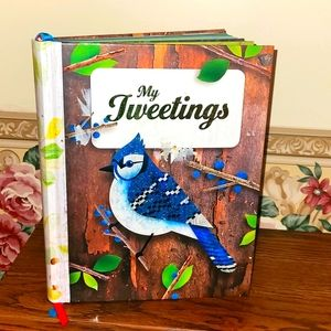 4.99SHIP🆕️My Tweetings: Guided Colorful Journal w Writing Prompts (Hardcover)